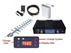 China 10dBm Pico Lte Mobile Signal Repeater 60dB Gain ALC MGC 500sqm Coverage 2600MHz on sale