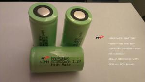 China SC3500mAh 1.2V NIMH Rechargeable Batteries R/C CARS HELICOPTER on sale
