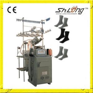 China Machine à tricoter entièrement automatisée de chaussettes de Shenglong 6f on sale