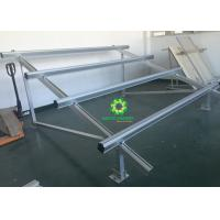 China Aluminum Rail PV Solar Panel Mounting System for Solar Power Plant on sale