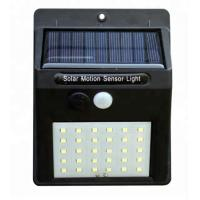 3.7v ABS 30 Leds Solar Powered Outdoor Lights With Motion Detector For Backyard