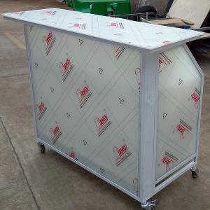 Quality Acrylic Outdoor Folding Portable Bar Counter With Wheels For Sale  ...