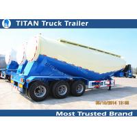 48cbm Bulker cement trailer with famous brand air compressor and diesel engine