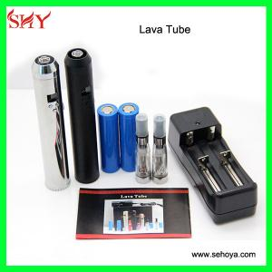 China 2014 Professional newest Mod Lavatube with Variable Voltage 900mAh/2200mAh lavatube ecig v on sale