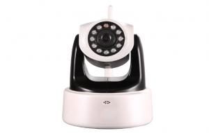 China Wireless HD Plug And Play IP Cameras With Pan + Tilt , IR-CUT , H.264 IP Cameras on sale