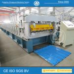 High Speed Step Tile Roll Forming Machine with ISO Quality System , Roll Former Machine