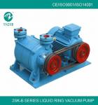 2SK-1.5B 4kw cast iron material color blue liquid ring vacuum pump for food packaging