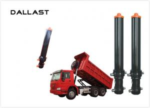China Hyva Single Acting Telescopic Hydraulic Cylinders For Agricultural Farm Truck on sale