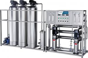 China Reverse Osmosis 316L Industrial Water Treatment Systems on sale