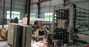 China High Speed Good Quality High Capacity Non-stop Toilet Paper Rewinding Production Line on sale