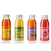 Vinyl Personalized Juice Bottle Labels Glassine Paper With Fancy Design