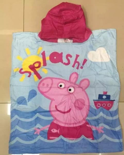 e45c1f3b29 Summer Baby Bathrobe Children Beach Cloak Hooded Towel Bathrobe Towel Images