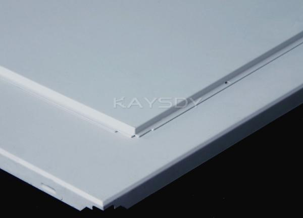 Customized Imperforate Insulated Suspended Ceiling Tiles For Commercial Kitchen Images Metal