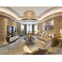 Top Quality Living Room 0.53*10M Suede Wallpaper Wall Decoration Wholesaler Best Prices