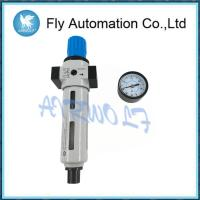 Fully Automatic Air Compressor Filter Regulator Silver Color Metal Bowl Guard
