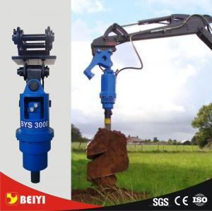 Photovoltaic pile drill hydraulic auger driver equipment