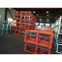 China 650MM Mast Sections Building Construction Hoist Spare Parts 1.508m Height on sale