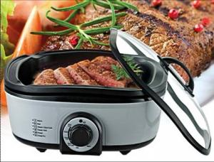 China 8 in 1 Multifunction Electric Cooker with Non-stick Inner Rice Cooker on sale