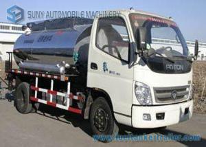 China Foton 2000 L - 4000 L Small Bitumen Asphalt distribution truck 95hp supplier