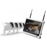 China 4 Channel WIFI IP Camera NVR Kit WiFi Camera with HD LCD Screen Display NVR on sale