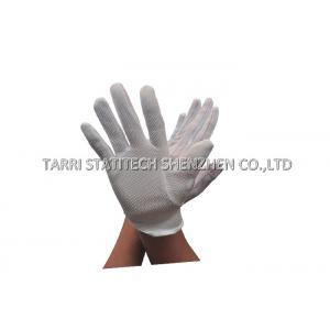 China PVC d'ESD statique de gants de protection de main anti pointillant le gant avec d'anti propriétés de glissement on sale
