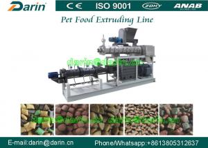 China Darin Twin Screw Extruder Machine for Pet Dog Fish Snack Production Line on sale