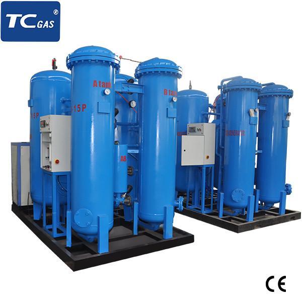 SIEMENS Auto Control Oxygen Gas Plant , Medical Oxygen Plant