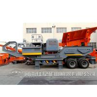 Price for tire movable coal impact mobile stone crusher