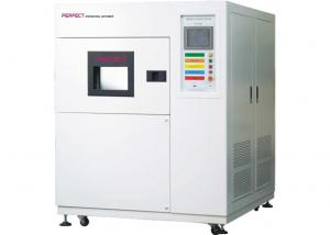 China High Low Temperature Thermal Shock Test Equipment 3 Chambers Hot Cold Impact Tester on sale