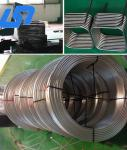China High Fatigue Resistant Titanium Alloy Tube , Gr12 Cold Drawn Seamless Pipe wholesale
