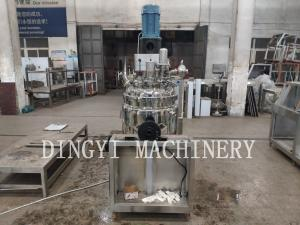 China Front Operating Vacuum Emulsifying Machine , Small Scale Homogenizer on sale