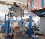 Thermoplastic Extrusion Machine , PVC Blown Film Extrusion Line Thickness 0.015-0.06mm