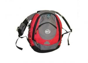 China 600D Polyester PVC Travelling Backpacks , One Zippered For School on sale
