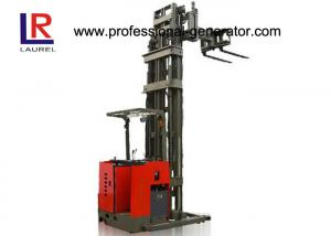 China Storage Warehouse Material Handling Equipment 1 Ton Forklift With Narrow Aisle / High Shelf on sale