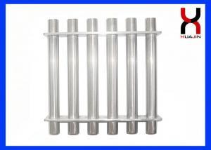 China Anti - Corrosion Rare Earth Grate Magnet , Neodymium Iron Boron Magnetic Filter on sale