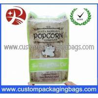 Any Color Custom Logo Popcorn Plastic Food Packaging Bags Waterproof