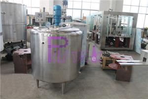 China Auto Fruit Juice Processing Equipment 200L Solid Sugar Melting Pot Double Layer on sale
