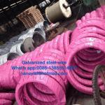 Grade700-Grade1300 galvanizou a costa de fio de aço para o fio da estada conforme BS183