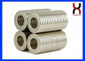 China High Performance Countersunk Neodymium Ring Permanent Magnet for Magnetic Device on sale