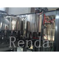 China Automatic Water Bottle Filling Machine / Wrapping Machine 380V CE Certification on sale