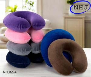 China Super soft velvet u-shaped decorative pillows on sale