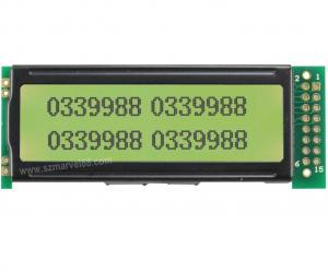 China M12232C-Y5,12232 Graphics LCD Module, 122x32Display, STN yellow green, transflective/posit on sale