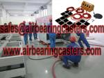 Air moving skates save cost and more safety when works