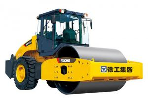 China XS143J  XCMG's 14 tons single drum mechanical drive vibratory road rollers on sale