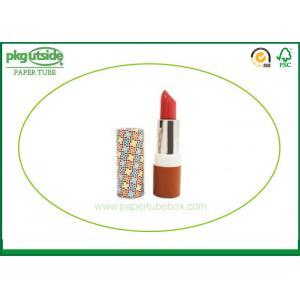 Fancy Lip Balm Paper Lipstick Tubes Custom Printed Logo Elegant Design