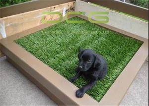 China Easy Installation Synthetic Artificial Grass Carpet / Plastic Grass Mat supplier