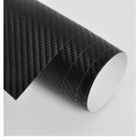Black 3D Carbon Fiber Vinyl Car Wrap