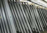 International Airport Steel Fence Fabrication , Semi Gloss Heavy Metal Fabrication