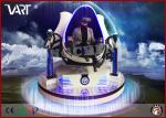 Professional Interactive VR Simulator 9D Cinema Triple-Seat VR Chair With 360 Rotation