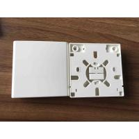 China SC 2 Ports Fiber Distribution Box Indoor Faceplate 86 Type For Networking on sale